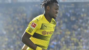 Wieder ein starker Auftritt der Chelsea-Leihgabe: Michy Batshuayi erzielte für Dortmund das 2:0