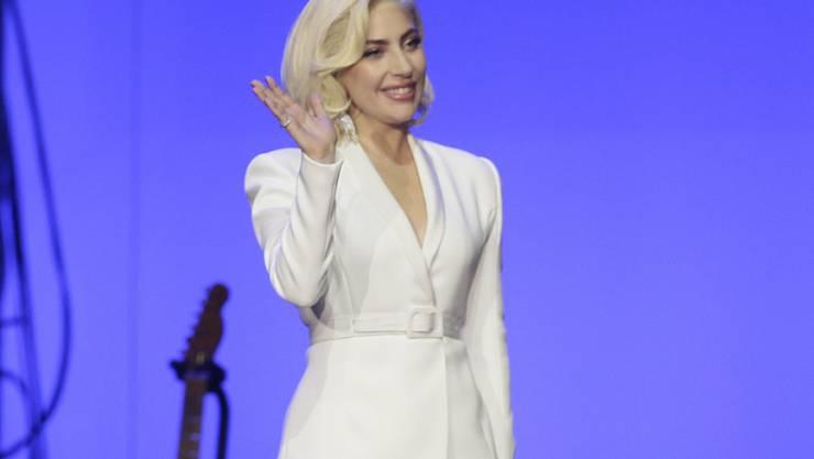 Will mit zwei Shows zu Pop und Jazz fast ein Jahr lang in Las Vegas auf der Bühne stehen: US-Popsängerin Lady Gaga. (Archivbild)