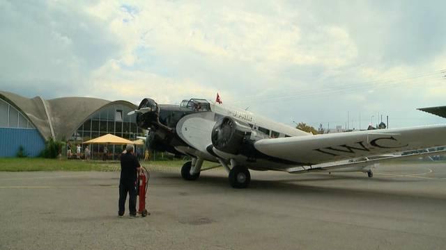 Tante Ju Flugzeuge gegrounded