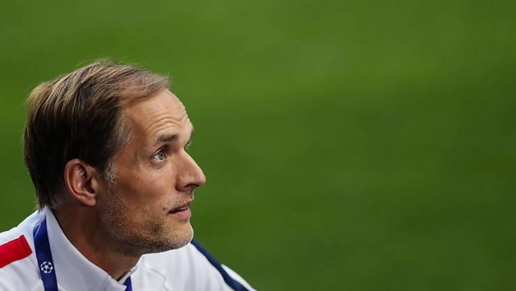 PSG-Trainer Thomas Tuchel muss zum Meisterschaftsauftakt eine Niederlage hinnehmen.