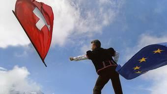 Positive Signale der EU-Staaten: Sie haben am Montag nach einer Anhörung des Schweizer EU-Botschafters Urs Bucher darauf gedrängt, so schnell wie möglich das institutionelle Rahmenabkommen fertig zu verhandeln. (Archiv)