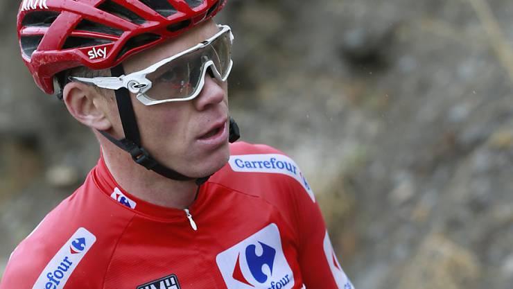 Chris Froome bleibt Leader der Vuelta - trotz zwei Stürzen
