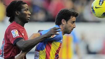 Levantes Pedro Lopez (rechts) gegen Ibrahima Balde