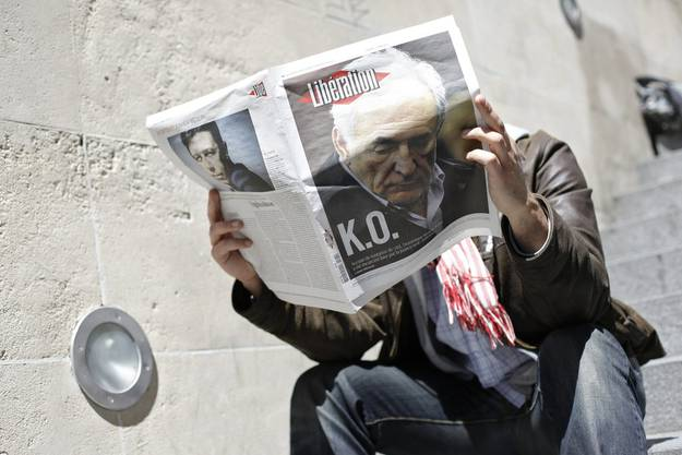 Strauss-Kahn ist wegen sechs Straftaten angeklagt, für die er mehr als 70 Jahre Haft bekommen kann.