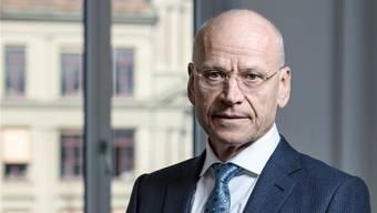 «Ein toxischer Dreiklang»: Swissholdings-Präsident Karl Hofstetter zu KVI und Gegenvorschlag.Daniel Rihs