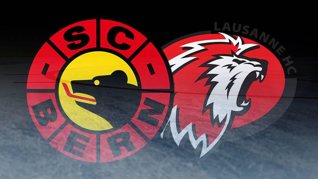 Wettbewerb: SC Bern vs. Lausanne HC