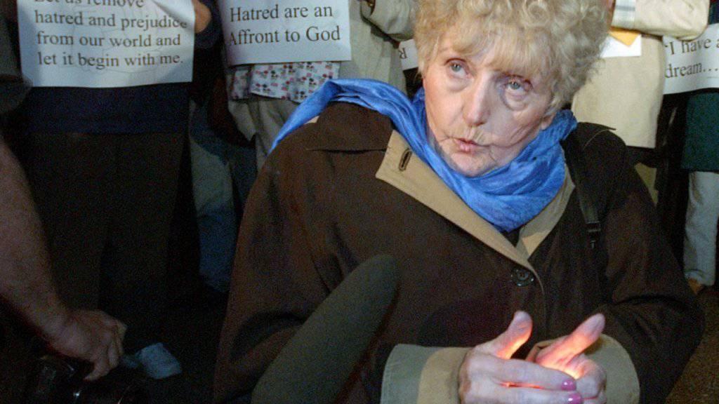 Starb im Alter von 85-Jahren: die rumänsiche Holocaus-Überlebende Eva Kor. (Archivbild)