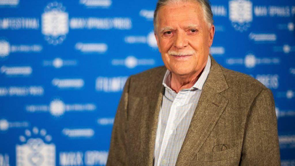 Kameramann Michael Ballhaus (80) erhält einen Ehren-Bären für sein bisheriges Lebenswerk (Archiv 2013).