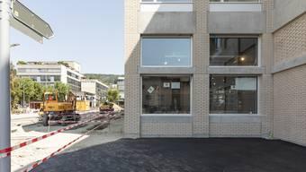 Seit einem halben Jahr werden die Gemeindehaus- und die Huebwiesenstrasse umgestaltet.