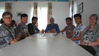 Die Kontaktgruppe Asyl hat in Frick einen Treffpunkt für Einheimische und Asylsuchende organisiert. Nadine Böni