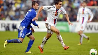 In Tuggen konnte der FCB noch antreten. In Le mont sind die Platzverhältnisse so schlecht, dass das Spiel verschoben werden musste.