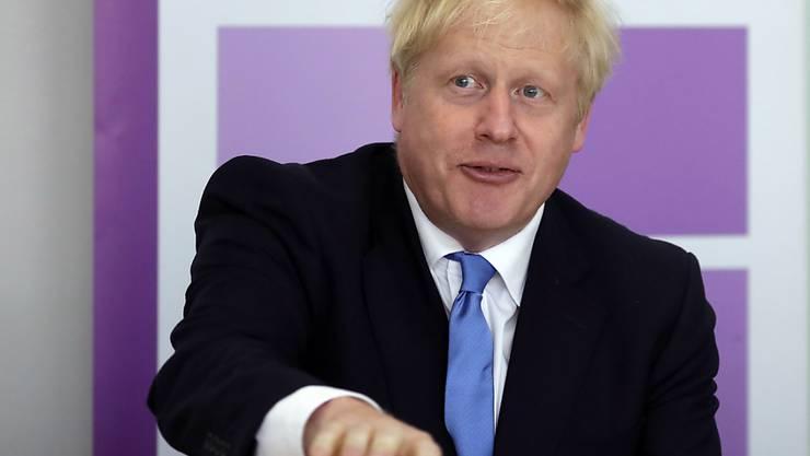 Seine Regierung stellt mehr Geld für einen ungeregelten Brexit zur Verfügung: der neue britische Premierminister Boris Johnson.