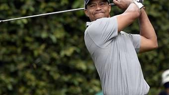 Tiger Woods mit etwas skeptischem Blick