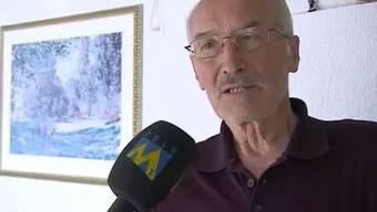 Der 74-jährige Kurt Hunziker schnappt sich einen Einbrecher