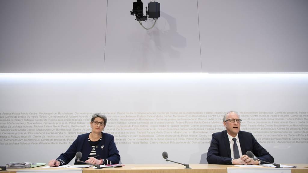 Bundesrat beantragt ausserordentliche Session