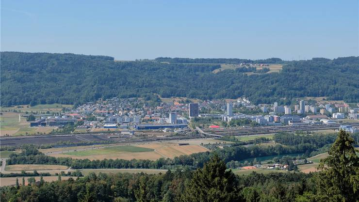 Künftig könnte die Autobahn hier in Spreitenbach abzweigen...
