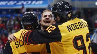 Deutschland besiegt Kanada sensationell mit 4:3 und steht damit im Olympia-Final.