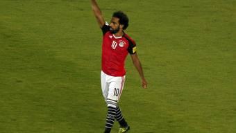 Mohamed Salah wird mit zwei Treffern zum Matchwinner für Ägypten