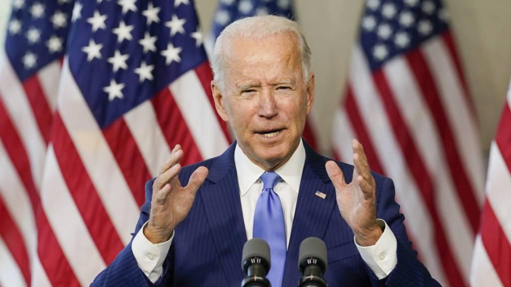 Biden: Trump lügt wie Goebbels