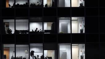Blick in Büroräumlichkeiten: Im Tessin wurden 2012 fast 19 Prozent mehr Firmen gegründet als ein Jahr zuvor (Symbolbild)