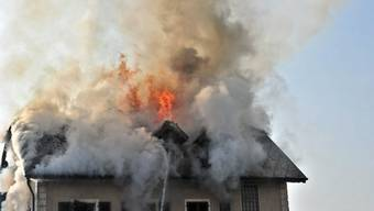 Brand im Restaurant Bahnhof in Bettlach