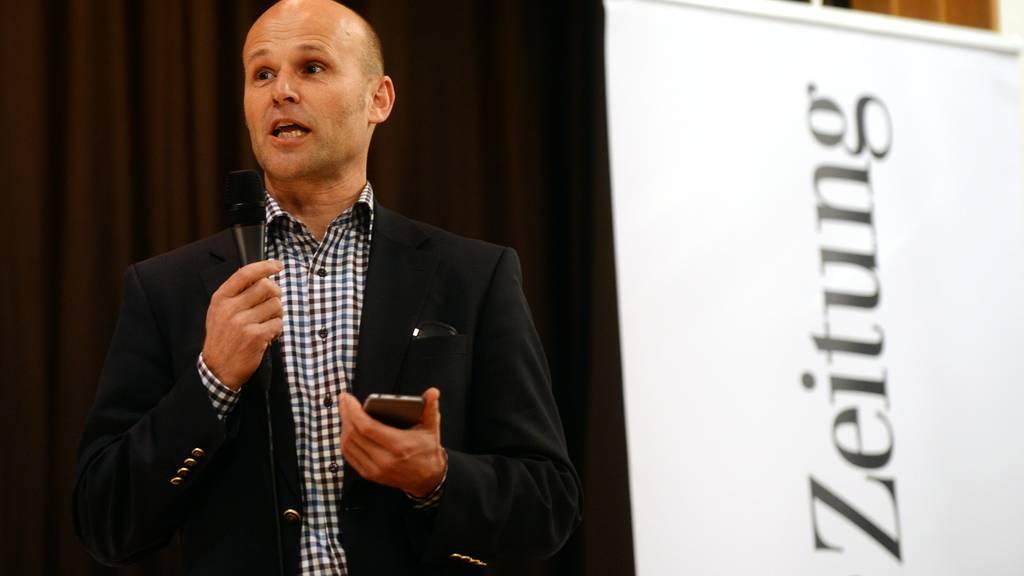 Der Arboner Stadtpräsident Andreas Balg hört auf.