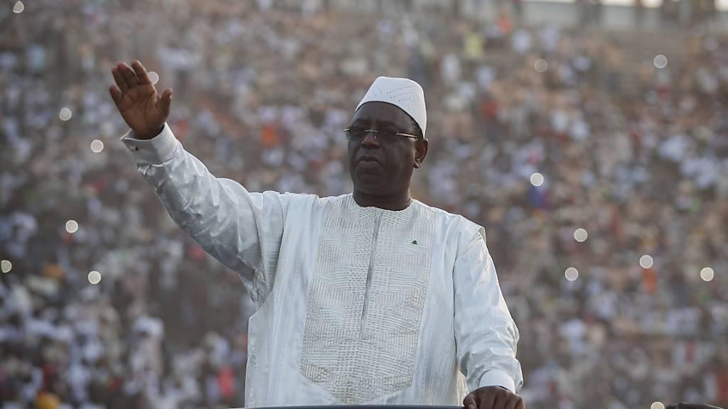 Senegalesischer Oppositionspolitiker Khalifa Sall begnadigt