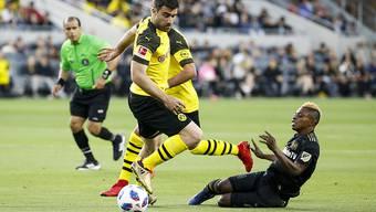 Der Grieche Sokratis verteidigt in Zukunft für Arsenal und nicht mehr für Dortmund
