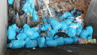 Begehrtes Gut: Kehrichtverbrennungsanlagen wie hier in Turgi wollen möglichst viel Abfall verwerten. Nun überlegen sich Turgi, Buchs und die in Dietikon ansässige Limeco eine gemeinsame Zukunft.