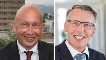 Philip Funk tritt nach 12 Jahren als Verwaltungsratspräsident des Kantonsspitals Aarau zurück, Konrad Widmer soll auf ihn folgen.