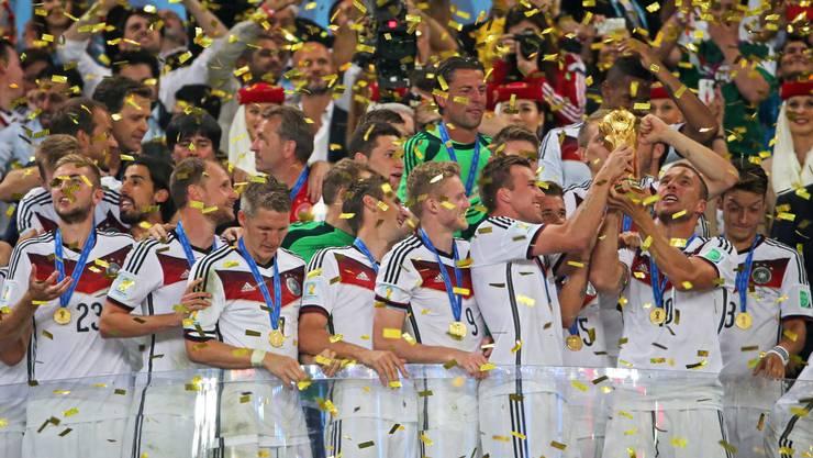 Deutschland ist Fussball-Weltmeister!