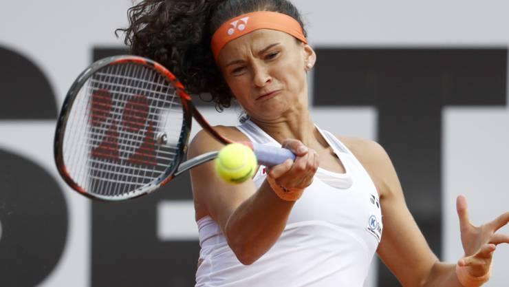 Amra Sadikovic fand mit der Vorhand nicht zu ihrem Spiel (Archivaufnahme)