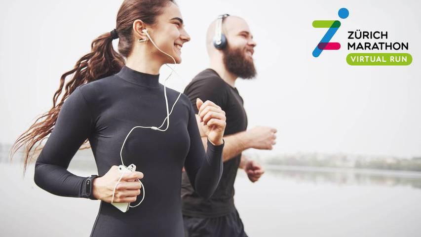 Erster virtueller Zürich Marathon