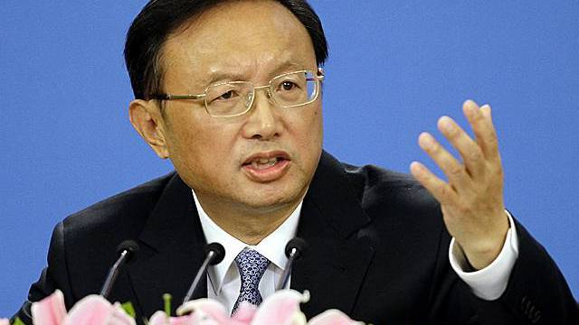 Chinas Aussenminister Yang Jiechi