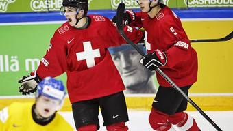 Die Schweizer hatte gleich fünfmal Grund zum Jubeln (Archivbild)