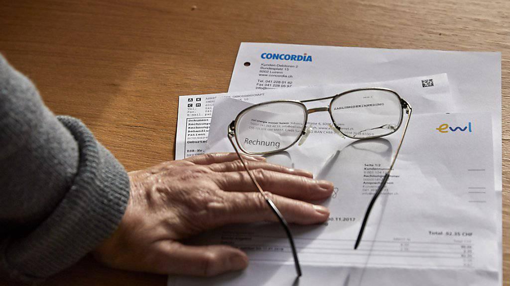 Die Zahl der AHV- und IV-Rentner, die auf Ergänzungsleistungen angewiesen sind, ist 2017 nur noch moderat gewachsen. (Symbolbild)