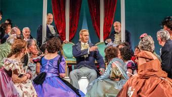 Die Operettentradition in Beinwil am See, hier eine Szene aus der 2014er-Produktion «Der Vogelhändler», wird im nächsten Jahr weitergepflegt.