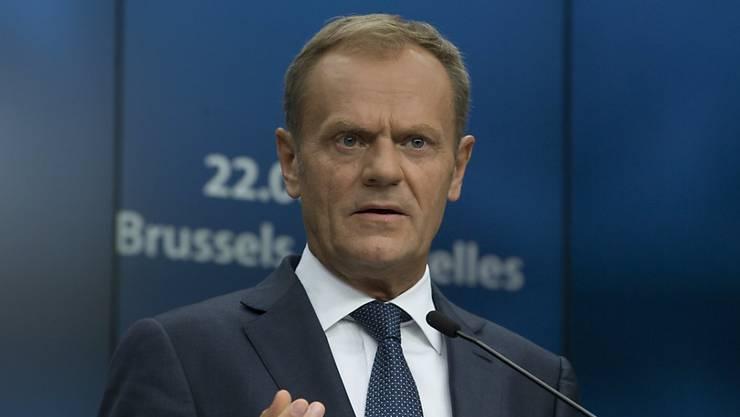 EU-Ratspräsident Donald Tusk will die Entscheidungsfindung der Europäischen Union effizienter machen.