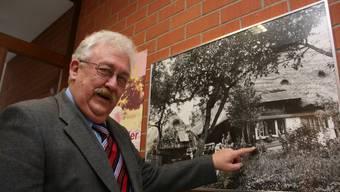 Reitnauer durch und durch: Werner Steiner kennt die Bewohner und Gebäude seiner Gemeinde. ba