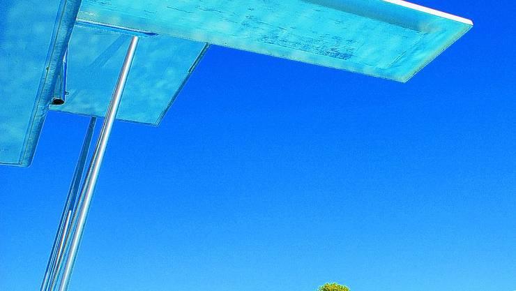 Die Anlage ist bereit: Ab Samstag ist das Wanger Schwimmbad offen. (Bild: oaw)