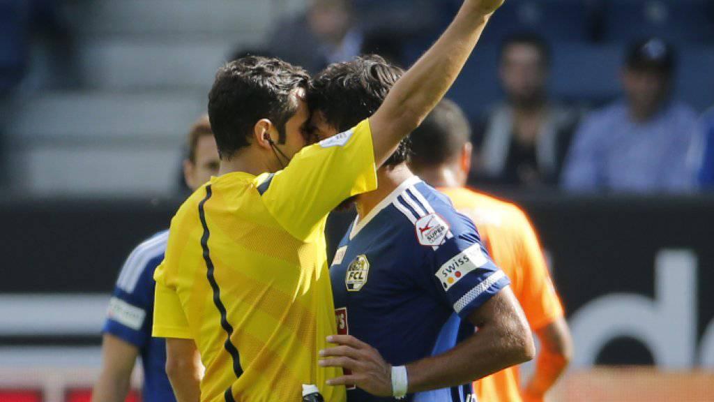 Lezcano vorerst zwei Spiele gesperrt.