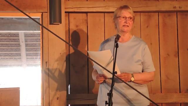 Die Rede von Elisabeth Wernli, Präsidentin von Tanz & Kunst Königsfelden.