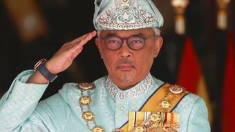 Hat das Amt offiziell übernommen: Malaysias neuer König Tengku Abdullah.