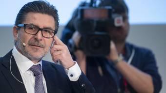 Swissgrid-CEO Yves Zumwald erklärte an der Bilanzmedienkonferenz in Aarau, dass die Schweiz unbedingt ein Stromabkommen mit der EU brauche.