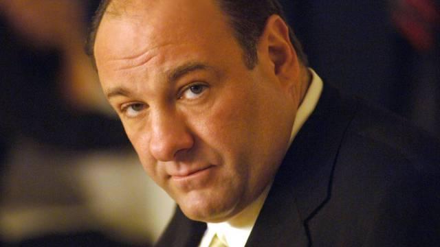 US-Schauspieler James Gandolfini als Tony Soprano
