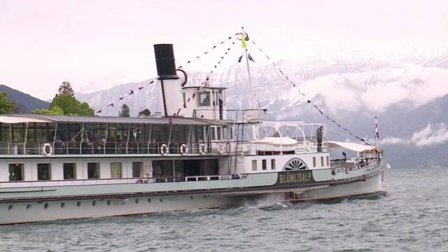 Jubiläumsfahrt: 25 Jahre Dampfschiff Blümlisalp