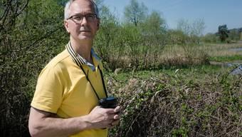 Arthur Ingold und die Vögel am Flachsee