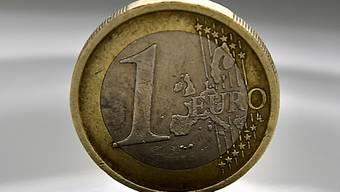 Kurzzeitig hat der Euro gegenüber dem Franken die Marke von 1,10 übersprungen. (Symbolbild)