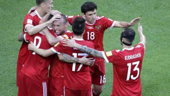 Die Sbornaja feiert zum Auftakt des Confederations Cup einen ungefährdeten Sieg über Neuseeland