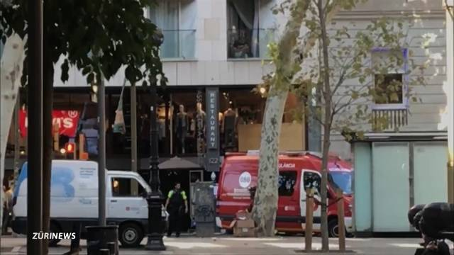 Mindestens 13 Tote bei Anschlag in Barcelona